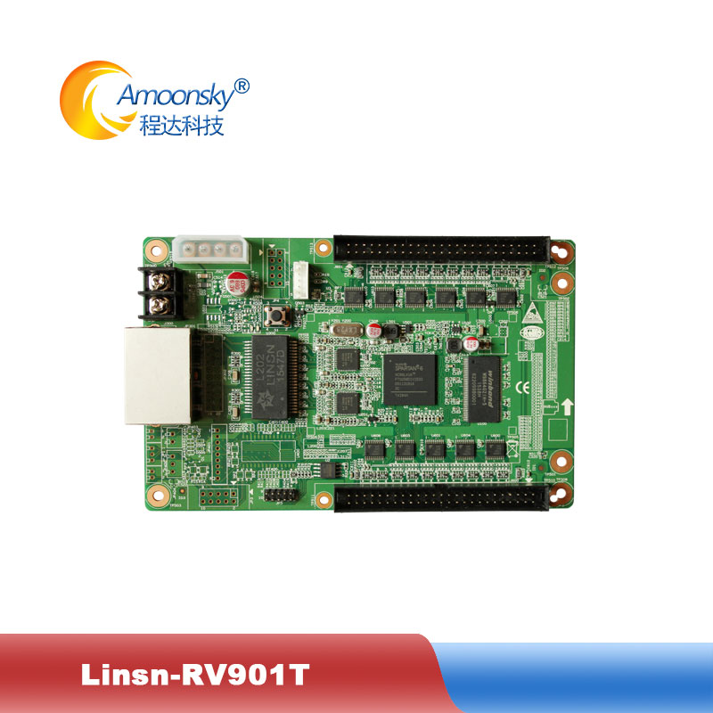 RV901T Receiving Card Work With Linsn TS802 Sending Card Full Color LED Display Receiving Card RV901 In Stock Orignal Factory