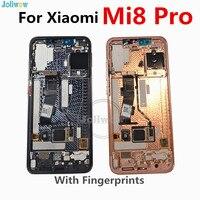 Amoled ЖК дисплей для Xiaomi mi 8 mi 8 Explorer mi 8 Pro ЖК дисплей дигитайзер сенсорный экран в сборе с рамкой в экране отпечатков пальцев