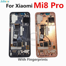Amoled LCD For Xiaomi Mi 8 MI8 Explorer MI8 Pro LCD Display Digitizer screen touch Assembly With Frame In-Screen Fingerprint все цены