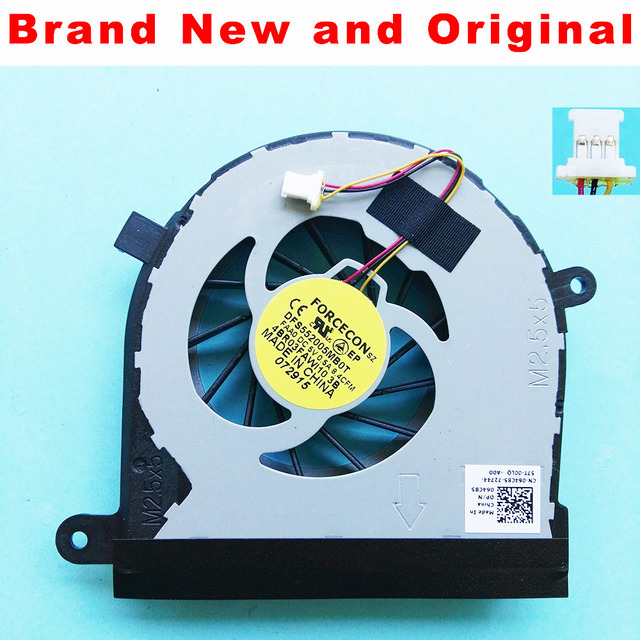 W New CPU cooling fan for Dell Inspiron 17R N7110 for VOSTRO 3750 laptop CPU cooling fan cooler 064C85 64C85 DFS552005MB0T FAA0