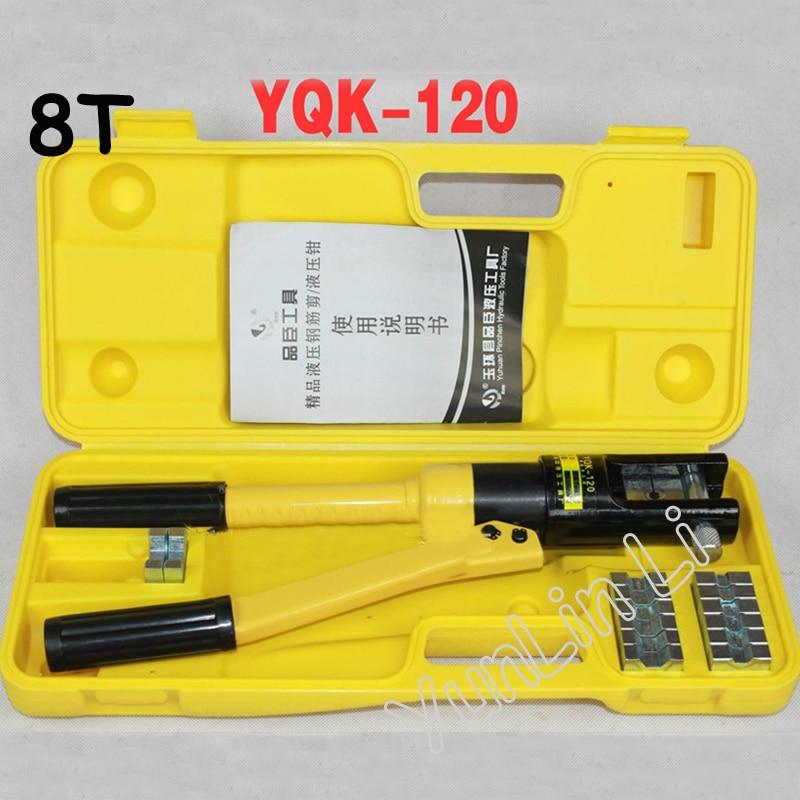 все цены на 10-120mm2 Hydraulic Crimping Plier Range Hydraulic Crimping Tool YQK-120 онлайн