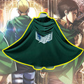 Attack on titan capa cosplay anime ropa del cabo
