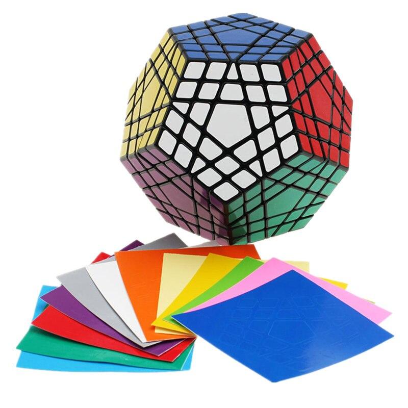 Shengshou Wumofang 5x5x5 Cube magique Megaminx Gigaminx 5x5 professionnel Dodecahedron Cube Twist Puzzle apprentissage jouets éducatifs - 2
