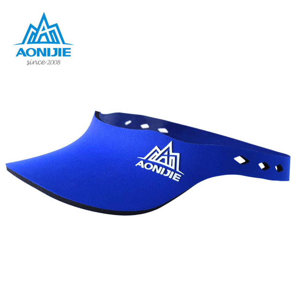 AONIJIE Marathon running sunhat visor sports hat sun-shading male travel cap female tennis ball cap quick-drying ultra-light цена 2017