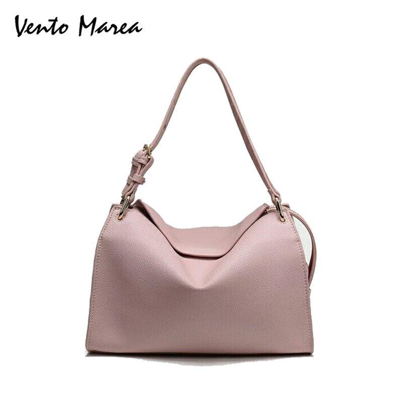 Vento Marea Для женщин сумки моды Сумка Lady Повседневное из искусственной кожи Bolsa Feminina Для женщин Курьерские сумки