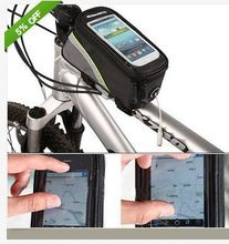 Sacoche Tube avant pour vélo, 5,5 pouces, pour iPhone 4/4s/5, SAMSUNG