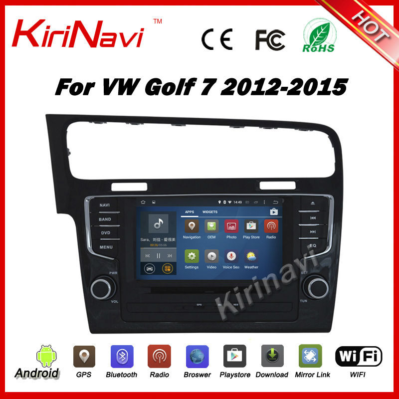 kirinavi 8 android 7 1 car multimedia for volkswagen vw golf 7 mk7 vii 2013 2014 2015 car dvd. Black Bedroom Furniture Sets. Home Design Ideas