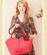 2014  New Retro female handmade  bag