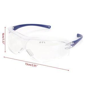 Image 2 - Work Safety Protective Glasses Anti Splash Wind Dust Proof Goggles Eye Protector