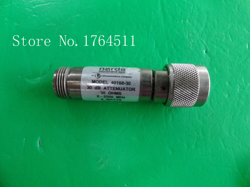 [BELLA] NARDA 40168-30 DC-2.2GHz 30dB 5W N Coaxial Fixed Attenuator