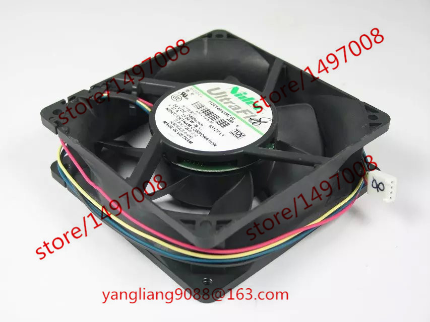 Free Shipping For Nidec T12E54BS1M7-07, A06 DC 54V 1.37A 4-wire 4-pin connector 110mm 120x120x38mm Server Square Cooling Fan free shipping 10pcs cs4221 bs