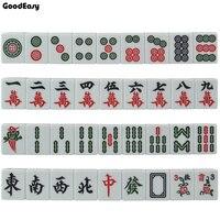 Горячая Мини маджонг набор настольная игра Mah jong путешествия доска Игра Домашние развлечения китайская смешная семейная столешница