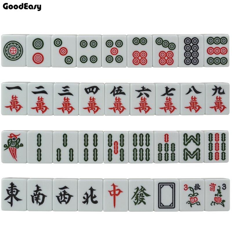 Mini Mahjong chaud mis jeu de Table Mah-jong voyage voyage jeu de société divertissement intérieur chinois drôle famille Table jeu de société
