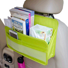 Travel Accessories Ehicle Article Storage Hanging Bag Car Storage Bag for Rear Seat of Automobile Magazine Newspaper Sorting Bag