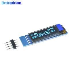 0,91 дюйма 128x32 IIC I2C синий OLED ЖК-дисплей Дисплей DIY модуль SSD1306 Драйвер IC 3,3 В постоянного тока 5 V для Arduino PIC