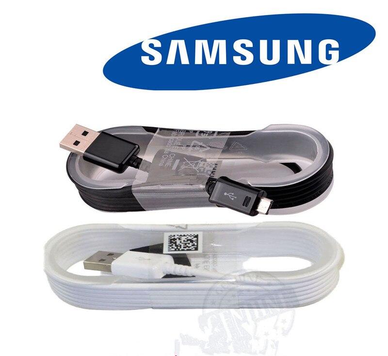 Original Samsung fast charging Data USB Micro Cable For Samsung Galaxy NOTE 4 5 S6 S6 EDGE s6 edge plus S7 S7 Edge Data USB