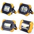 100 Вт светодиодный портативный прожектор рабочий свет USB Перезаряжаемый Фонарик 2*18650 или 3 * AA батарея для охоты кемпинга Led латерн