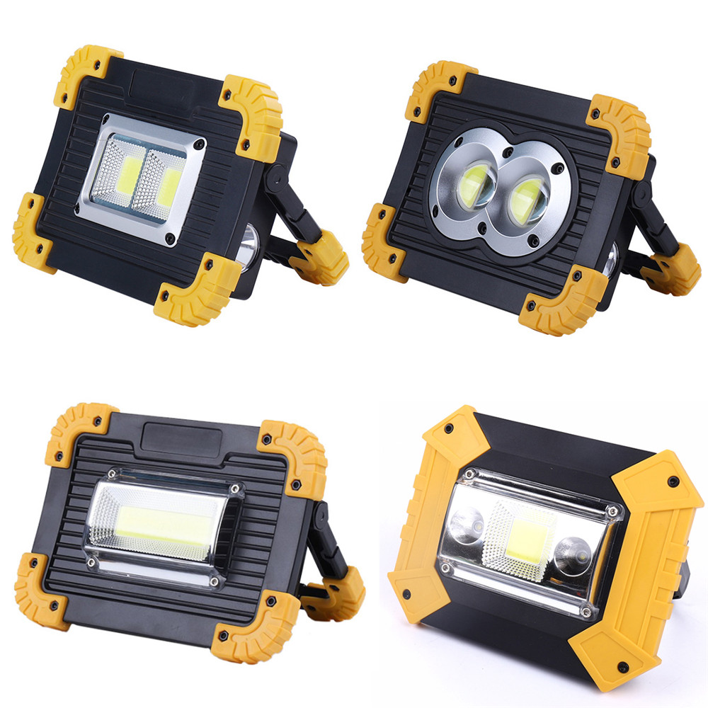 100W Led Portable Spotlight Work Light USB Rechargeable Flashlight 2*18650 Or 3*AA Battery For Hunting Camping Led Latern100W Led Portable Spotlight Work Light USB Rechargeable Flashlight 2*18650 Or 3*AA Battery For Hunting Camping Led Latern