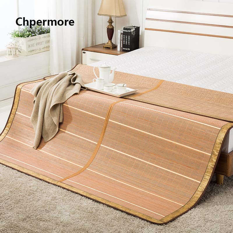 Chpermore 100 Natural bamboo Mattresses Multi function double sided Foldable summer Cold Mattress King Queen Twin