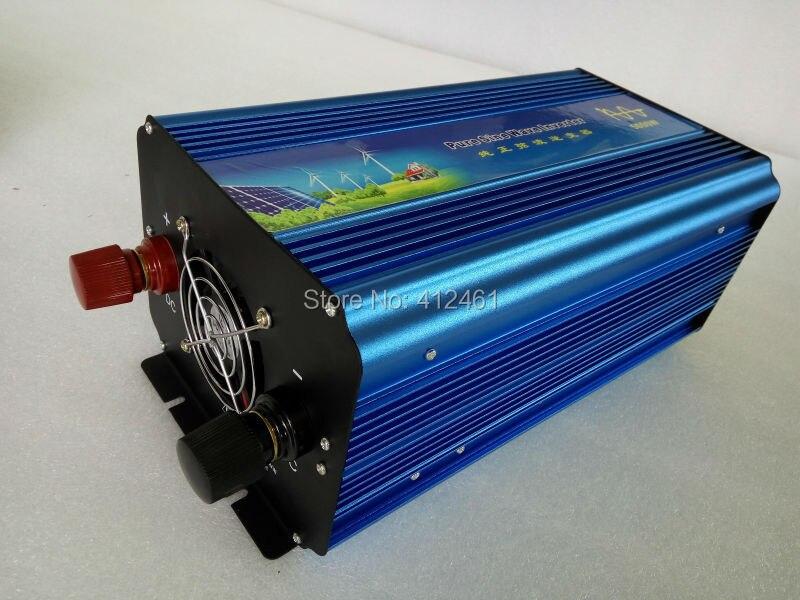 Volt Display AC Inverter Solar Inverter 5000 Watt/5000 W 12/24/48VDC zu 110/220VAC 10000W Spitzen Reine Sinus Welle Power Inverter