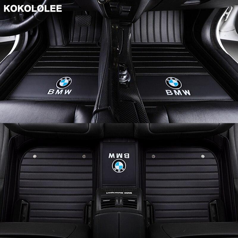 Kokololee alfombras personalizadas para Audi todo el modelo A1 A3 A4 A5 A6 A8 A7 Q3 Q5 Q7 S3 s5 S6 S7 S8 R8 TT SQ5 SR4-7 car styling