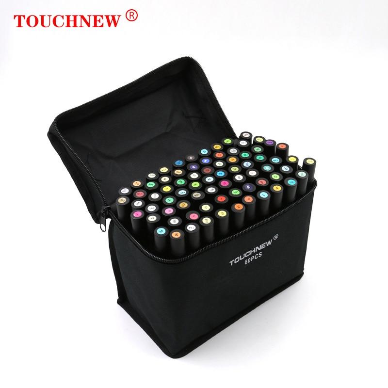 TOUCHNEW30/40/60/152 Color Alcohol Mark School Supplies Art Supplies Art Mark Copic Mark Art Supplies For Artist Marker Pen