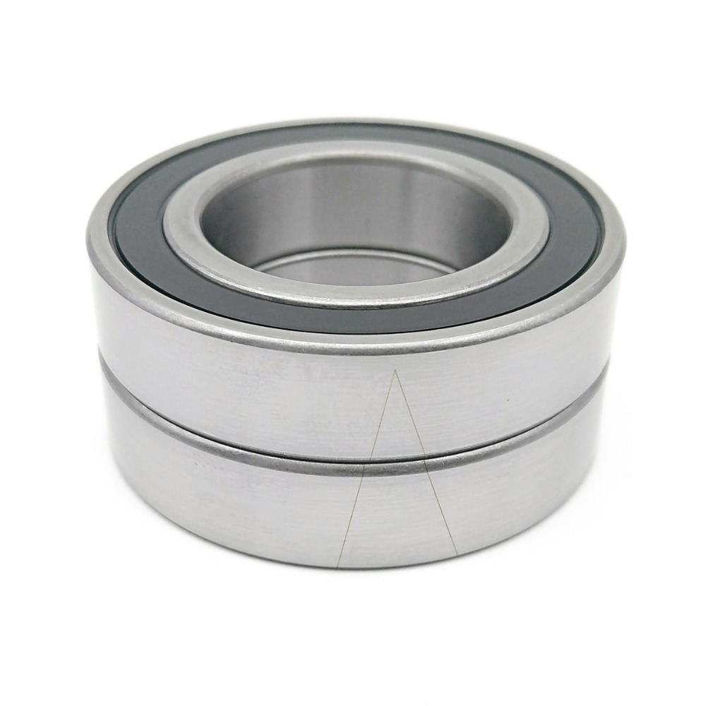 1pair 7007 H7007C 2RZ HQ1 P4 DBA 35x62x14 Sealed Angular Contact Bearings Speed Spindle Bearings CNC