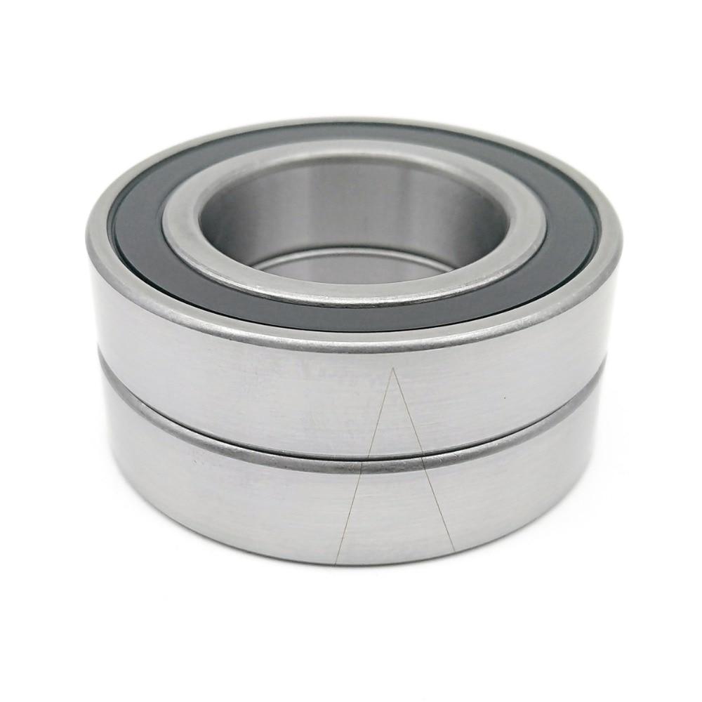 1pair 7007 H7007C 2RZ HQ1 P4 DBA 35x62x14 Sealed Angular Contact Bearings Speed Spindle Bearings CNC