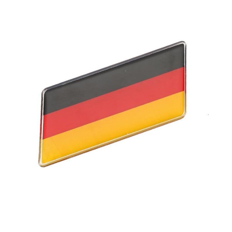 Европейские, мощные, демократичные, немецкие, с национальным флагом, прямоугольные, Стайлинг автомобиля, наклейки, автомобильные аксессуар...