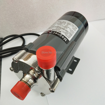 """MP-20R Food Grade 304 Stainless Steel Brewing Home brew 110V 220V Magnetic Water Pump Temperature 140C 1/2"""" port"""
