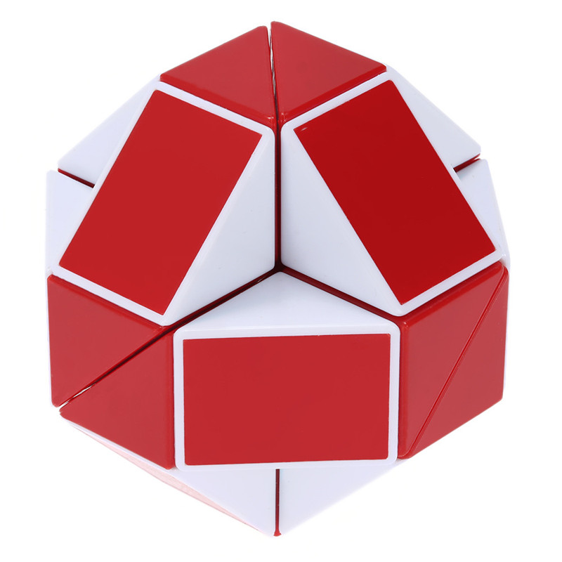 24 Blocks Ruler Magic Cube Puzzle Magic Ruler Cube Snake Twist Puzzle - ფაზლები - ფოტო 4