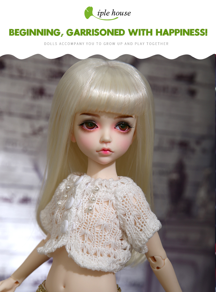 1//6 Bjd Doll SD Doll iple kid 1//6 lonnie Girl Free Face Make UP+Free Eyes
