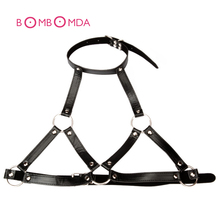 PU Leather BDSM Bondage Restraints Nipple Clamps Slave Collar Fetish O ring Mouth GagAdult Games Sex Toys For Couples