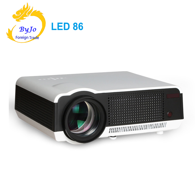 LED86 LED Projector Video HDMI USB Multimedia 1280x800 Full HD 1080P projector Home cinema LCD projector