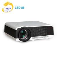 Poner Saund LED86 LED Projector Video HDMI USB Multimedia 1280x800 Full HD 1080P projector Home cinema LCD projector Digital 3D