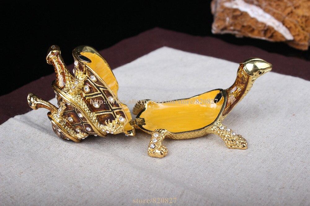 Aliexpresscom Buy Turtle Bejeweled Collectible Trinket Jewelry