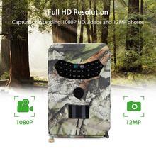 Hunting Camera Night Vision Trail Cameras 1080P Video recorder 12MP Wild Photo Trap PR100