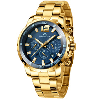 MEGALITH Relogio Masculino Watch Men Gold And Black Mens Watches Top Brand Luxury Sports Watches 2019 Reloj Hombre Waterproof