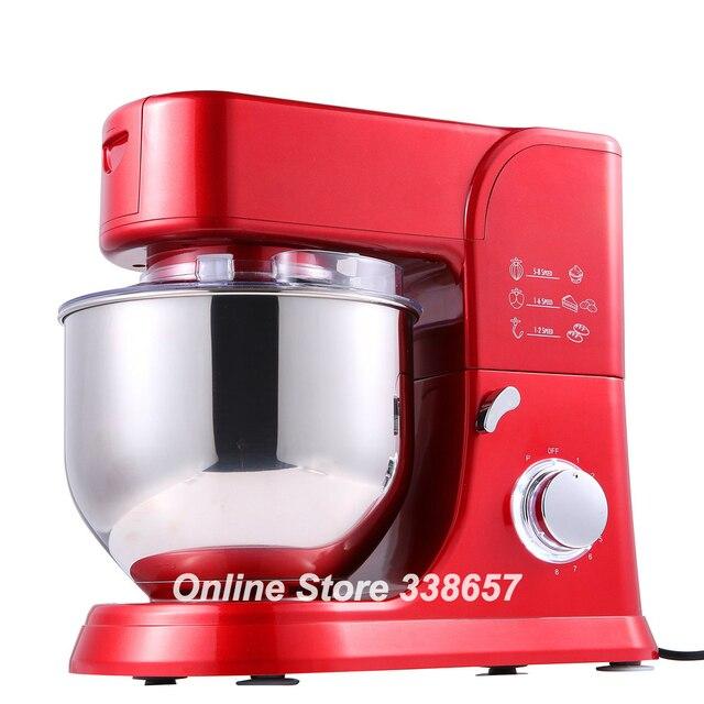 Elétrica 5.5L Chef De Cozinha Home Cooking Food Stand Mixer, Bolo De Massa  De
