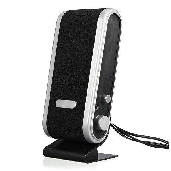 HOT-NEW 120W USB Power Desktop Computer Notebook Audio Speaker 3.5mm Earphone Jack