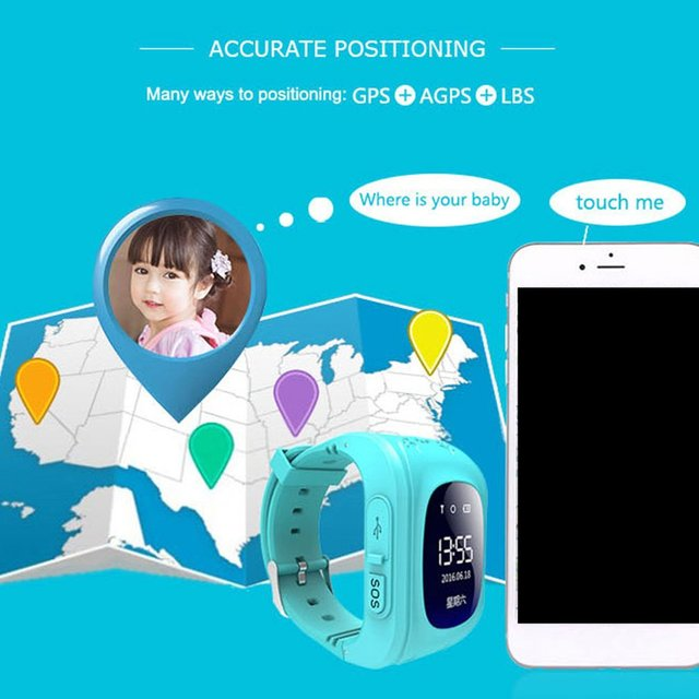 Q50 Smart Watches For Kid Anti Lost Child GPS Tracker SOS Positioning Tracking Smart Phone Kids Watches Clock Baby Best Gift 3