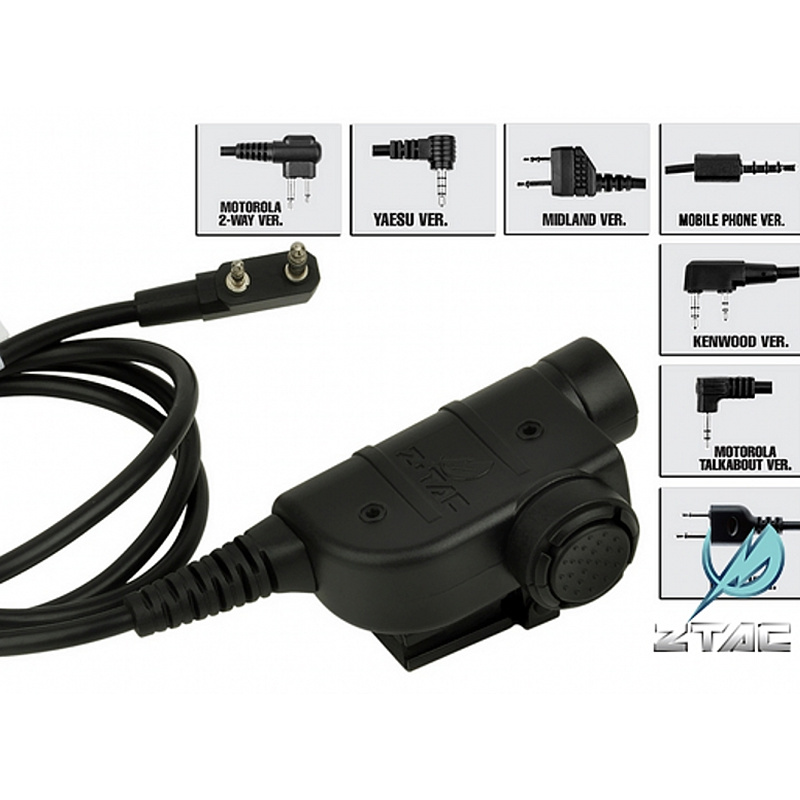 Z-Tactical Z125 Silynx Releases Chest PTT Tactical Airsoft Military Hunting Headset Accessory