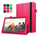 "Luxury Folio Stand PU Leather Keyboard Case Cover For Lenovo Ideapad Miix 310 10.1"" Tablet"