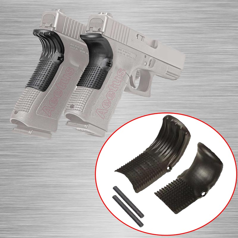 1pair tactical grip force gen 1 2 3 glock beavertail