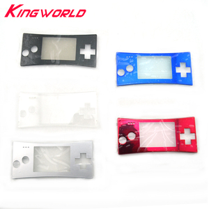 Image 1 - Replacement Front Shell Faceplate Housing Case Cover Panel for G ameboy Micro