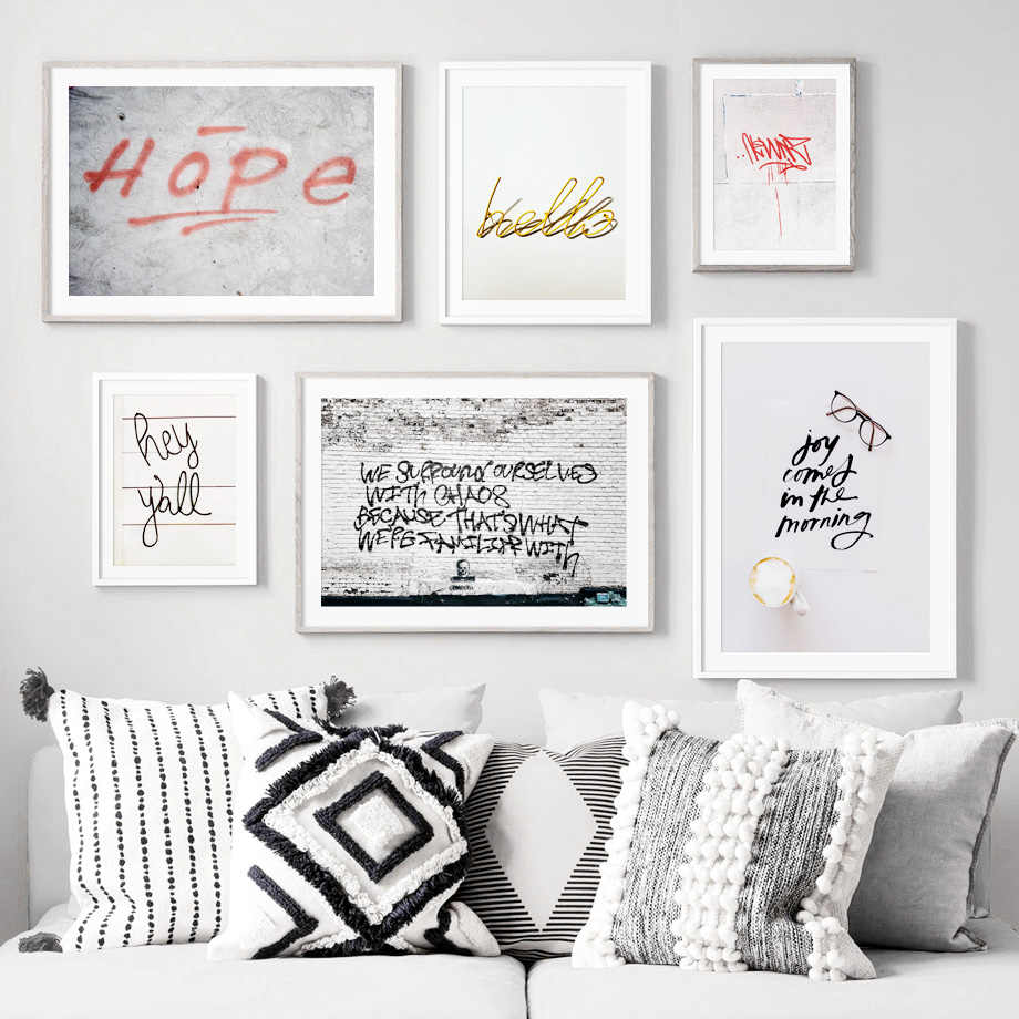 Abstract Art Print Street Graffiti Wall Art Canvas Painting Nordic Posters And Prints Wall Pictures For Living Room Home Decor