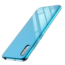 Shock Absorption Phone Case For Huawei Y6 Pro 2019 Clear Protective With Soft TPU Bumper Case protective shock absorption handheld plastic case for ipad mini blue