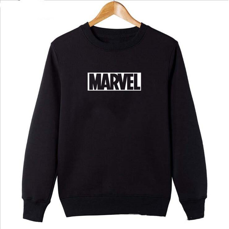 2018 New Fashion MARVEL Hoodie men gyms Sportswear Long sleeves male Hoodie marvel Hoodie men tops Sweatshirt Free shipping