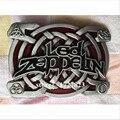 Led Zeppelin-метал пряжки уникальный Серебряный пряжки ремня Розничная компания оптового Западной Nos Turbo Tunning Ленточные Одежда