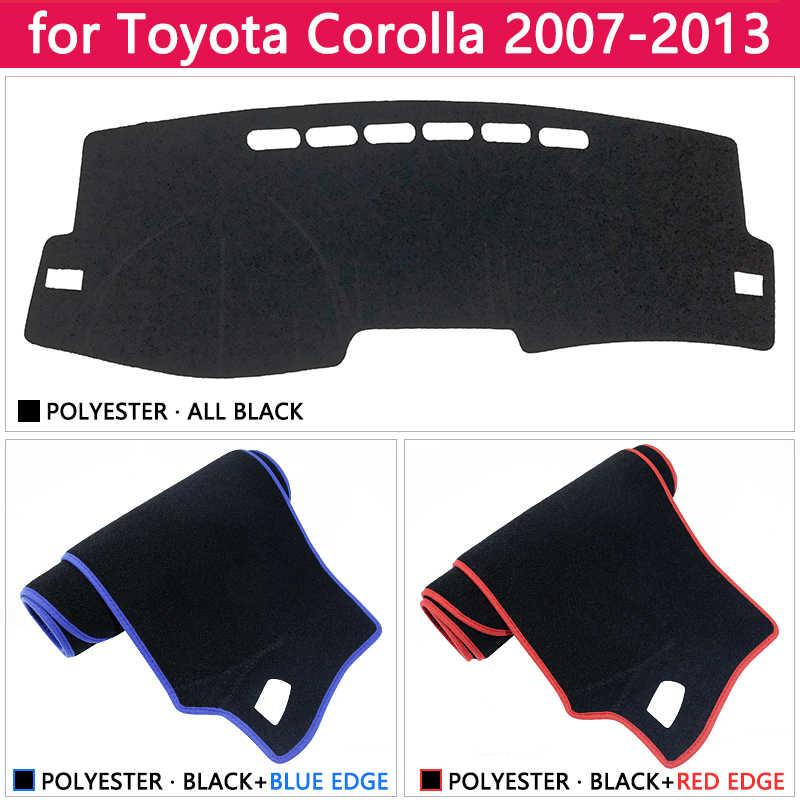Voor Toyota Corolla E140 E150 2007 ~ 2013 Anti-Slip Mat Dashboard Cover Pad Zonnescherm Dashmat Tapijt Auto Accessoires 2008 2011 2012